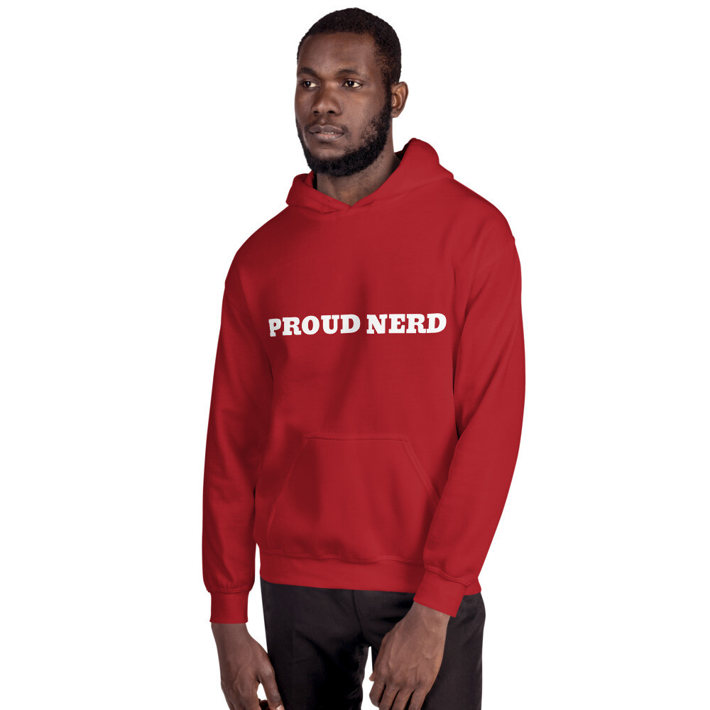 Proud Nerd Hooded Sweatshirt