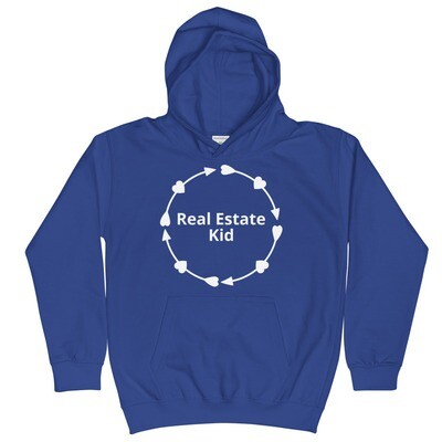 Real Estate Kid Kids Hoodie