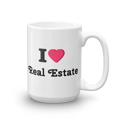 I Heart Real Estate Mug