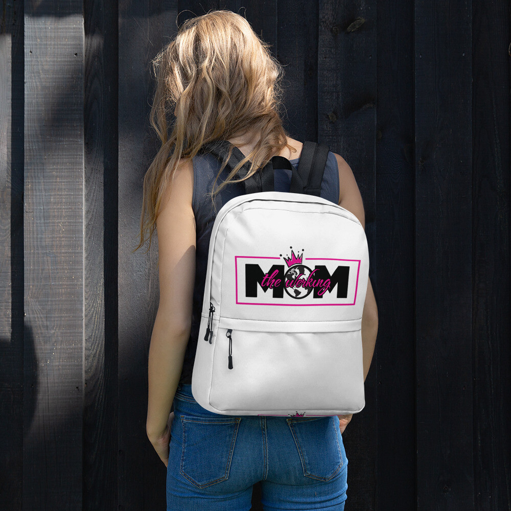 The Werking Mom Logo Backpack