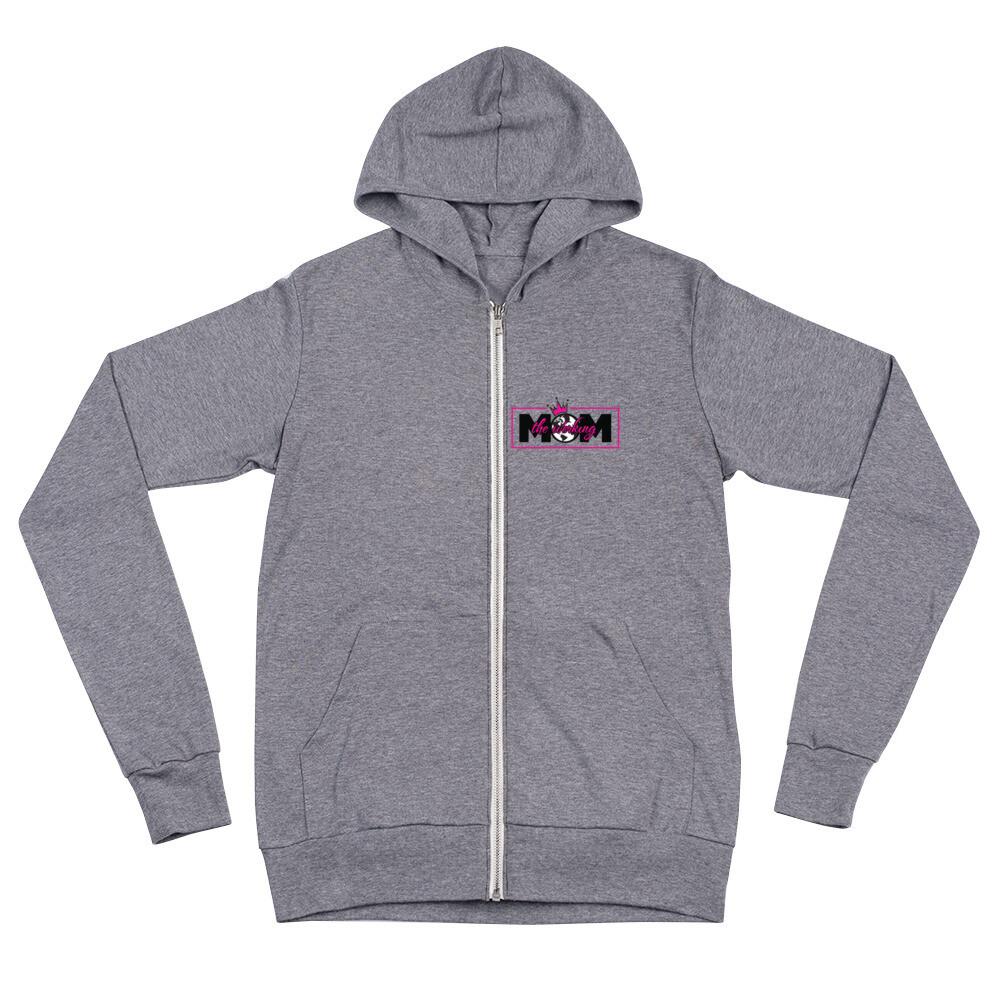 The Werking Mom Logo Unisex zip hoodie