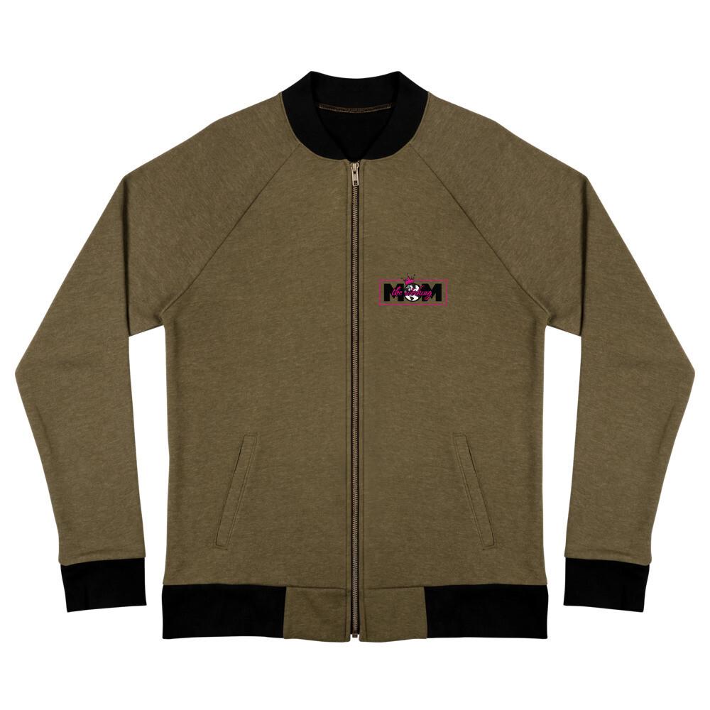 The Werking Mom Logo Bomber Jacket