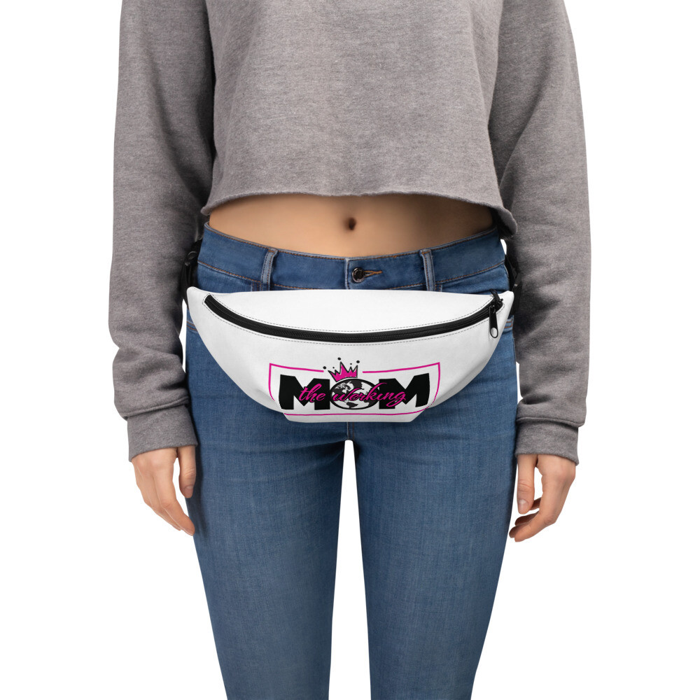 The Werking Mom Logo Fanny Pack