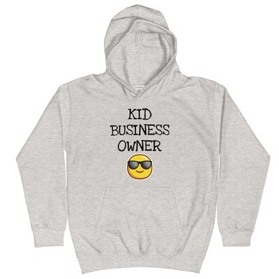 Kid Business Owner Kids Hoodie