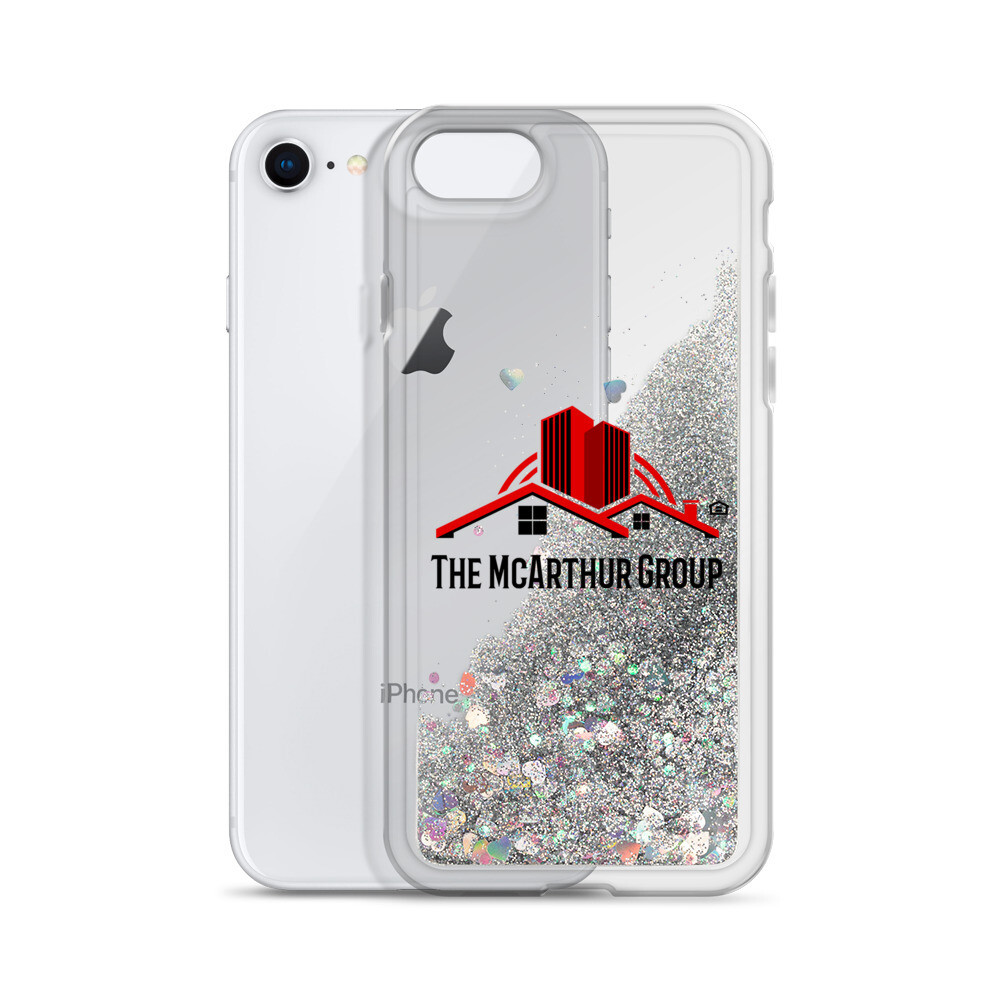 Logo Liquid Glitter Phone Case