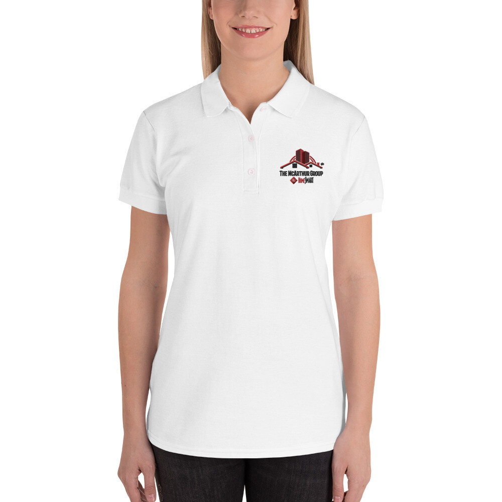 Logo Embroidered Women's Polo Shirt