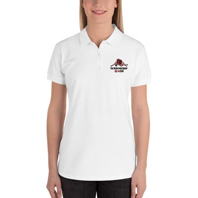 Logo Embroidered Women's Polo Shirt