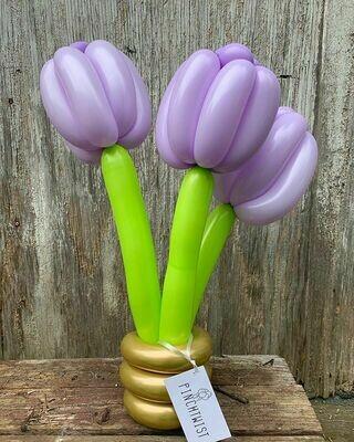 Small Flower Balloon Bouquet
