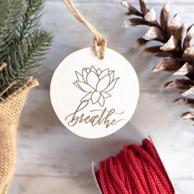 Breathe Lotus Flower