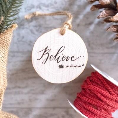 Believe Santa Sleigh