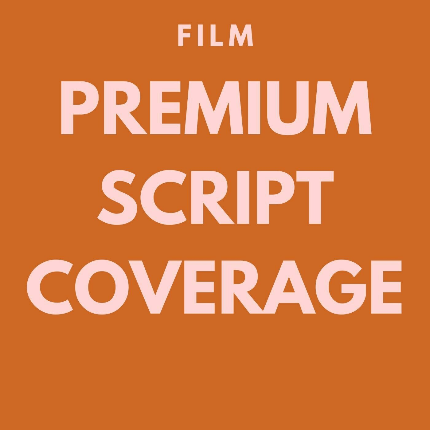FILM - Premium Script Coverage