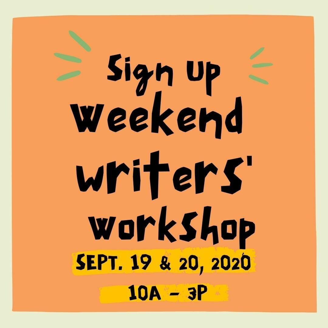 Weekend Writing Workshop (September)