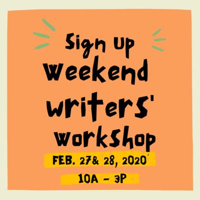 Weekend Writing Workshop (Feb 27&28, 2021)
