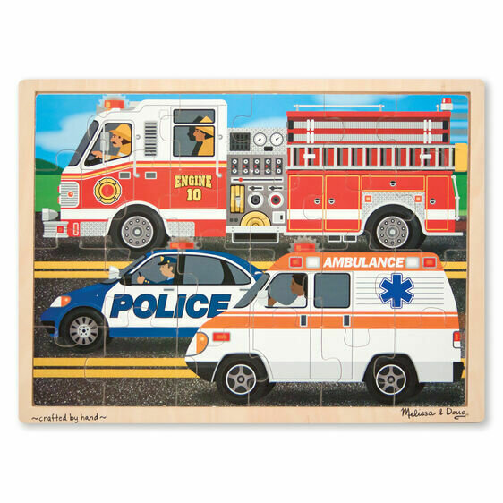 Race to the Rescue Jigsaw puzzle