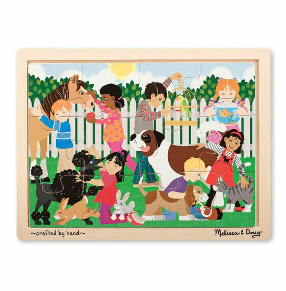 Wooden Jigsaw Puzzle Best Friends