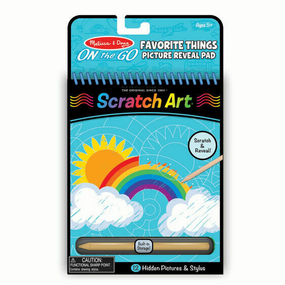 Scratch Art Favorite Things