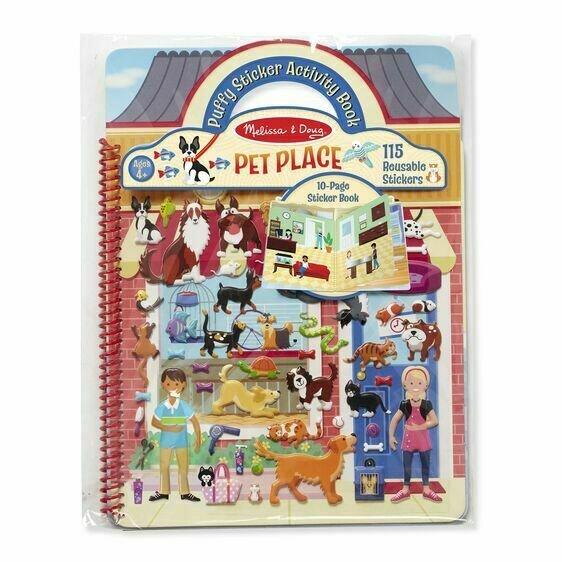 Puffy Sticker Play Set- Pet Palace