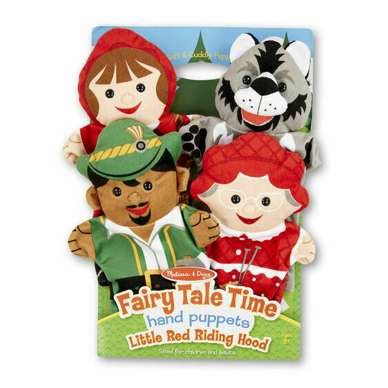 Little Red Riding Hood Hand Puppets