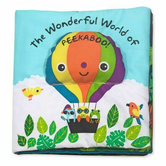 Peekabooo - Cloth Book