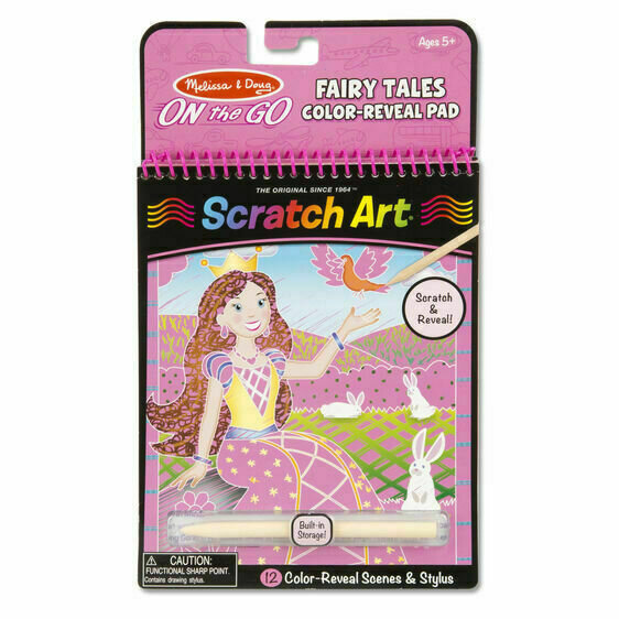 Scratch Art Fairy