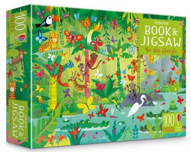 In The Jungle Book And Jigsaw Puzzle