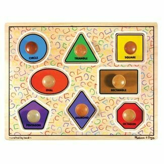 Jumbo Knob Puzzle Shapes