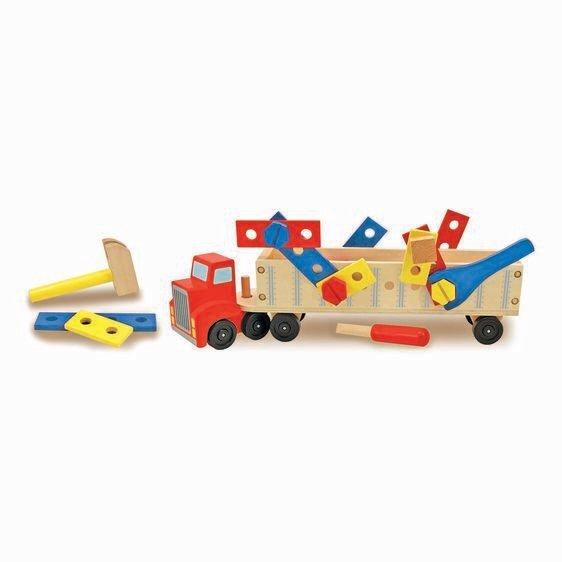Big Rig Building Set Truck