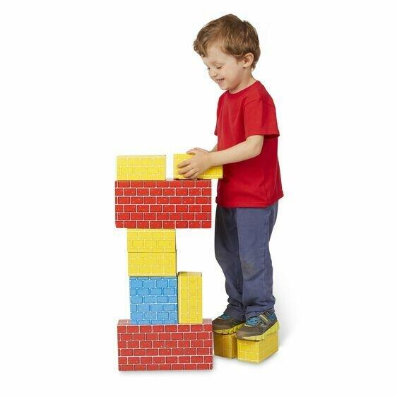 Jumbo CardBoard Blocks (24)