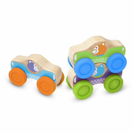 1st Play Animal Stacking Cars