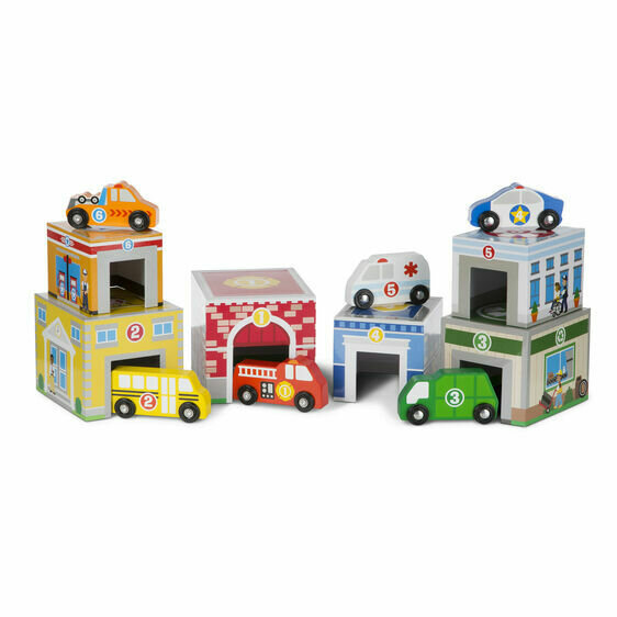 Nesting & Stacking Buildings & Vehicles