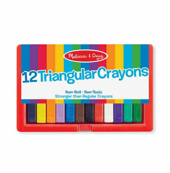 Triangular Crayon Set (12 pc)