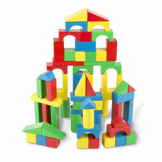 100 Wood Block Set