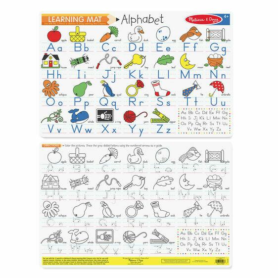 Alphabet Learning Mat