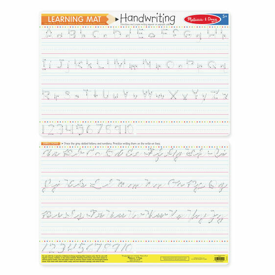 Handwriting  Learning  Mat