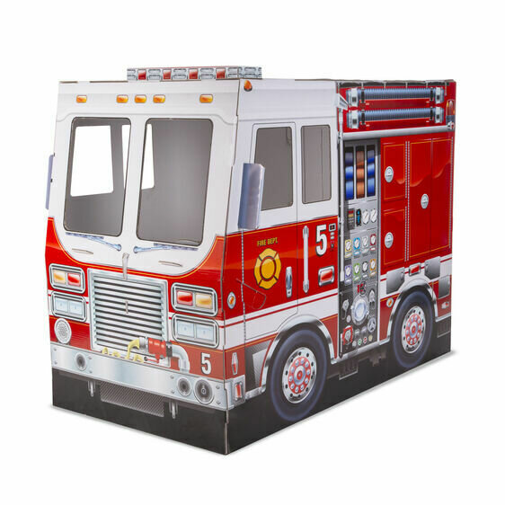 Fire Truck Indoor Play House