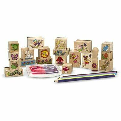Fairy Garden - Stamp-a-Scene