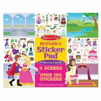Princess Castle Sticker Pad