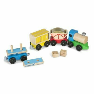 Wooden Railway Train Set