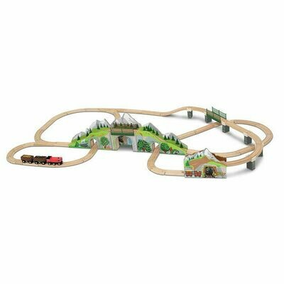 Mountain Railway Train Set