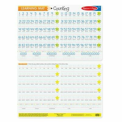 Counting Learning Mat
