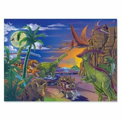 Puzzle Land of Dinosaurs