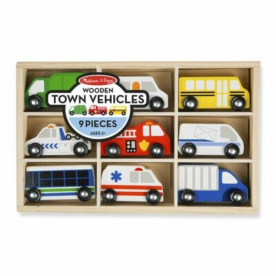 WoodenTown Vehicles