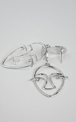 Face Chic Earrings - BLACKDOLL ACCESSORIES