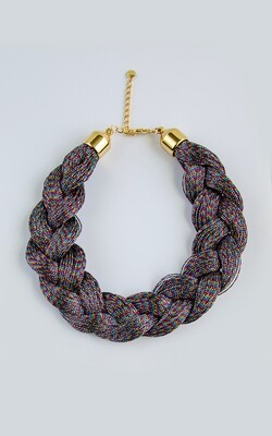 Big Braid Necklace - BLACKDOLL ACCESSORIES