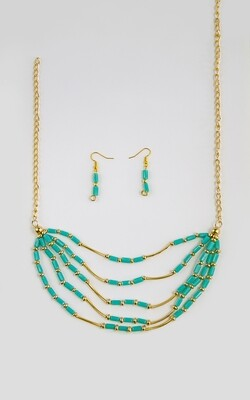 Chic Emerald Necklace - BLACKDOLL ACCESSORIES