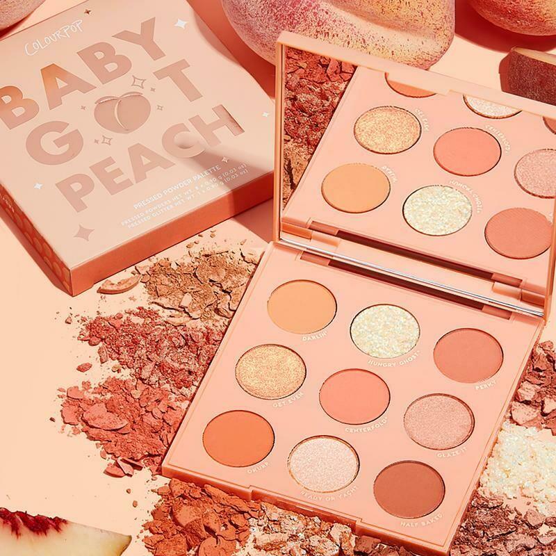 Baby Got Peach Shadow Palette - COLOURPOP