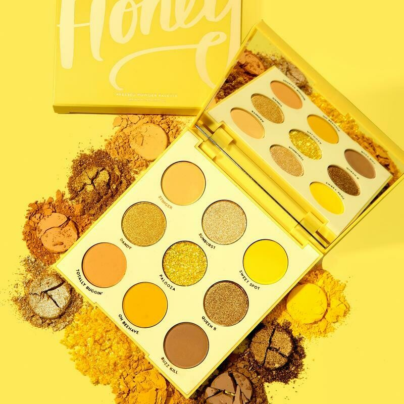 Uh, Uh, Honey Shadow Palette - COLOURPOP