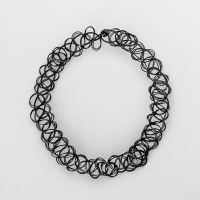 Classic 90's Choker - BLACKDOLL ACCESSORIES