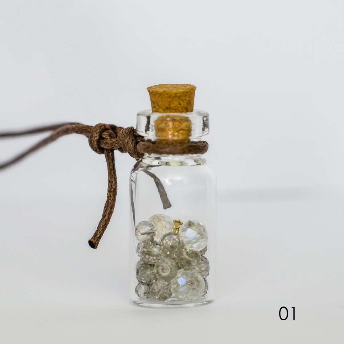 Glass Bottle Necklace - BLACKDOLL ACCESSORIES