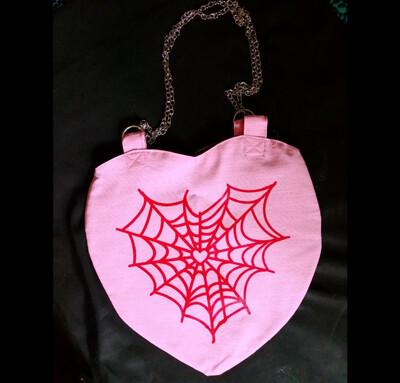 Heart Bag Spiderweb - Weird Twins